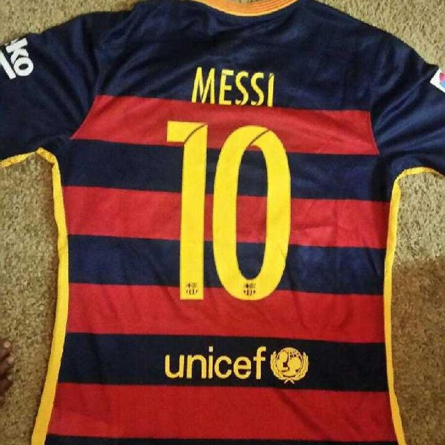 6418c94ae Best Barca Messi No 10 Jersey 2016 New With Tag for sale in Lawrenceville