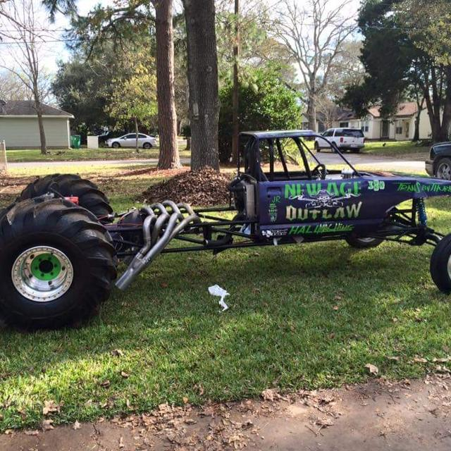 Find More Mud Truck! 2 Wheel Drive Rear Engine Rail. For
