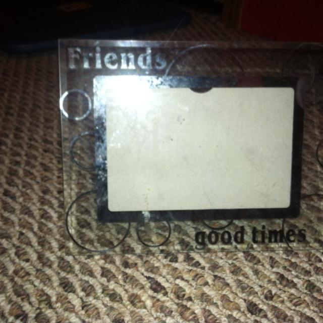 Best Picture Frame Very Cute Says Friends And Good Times For Sale