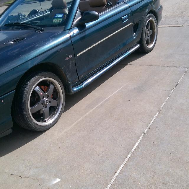 1996 ford mustang transmission