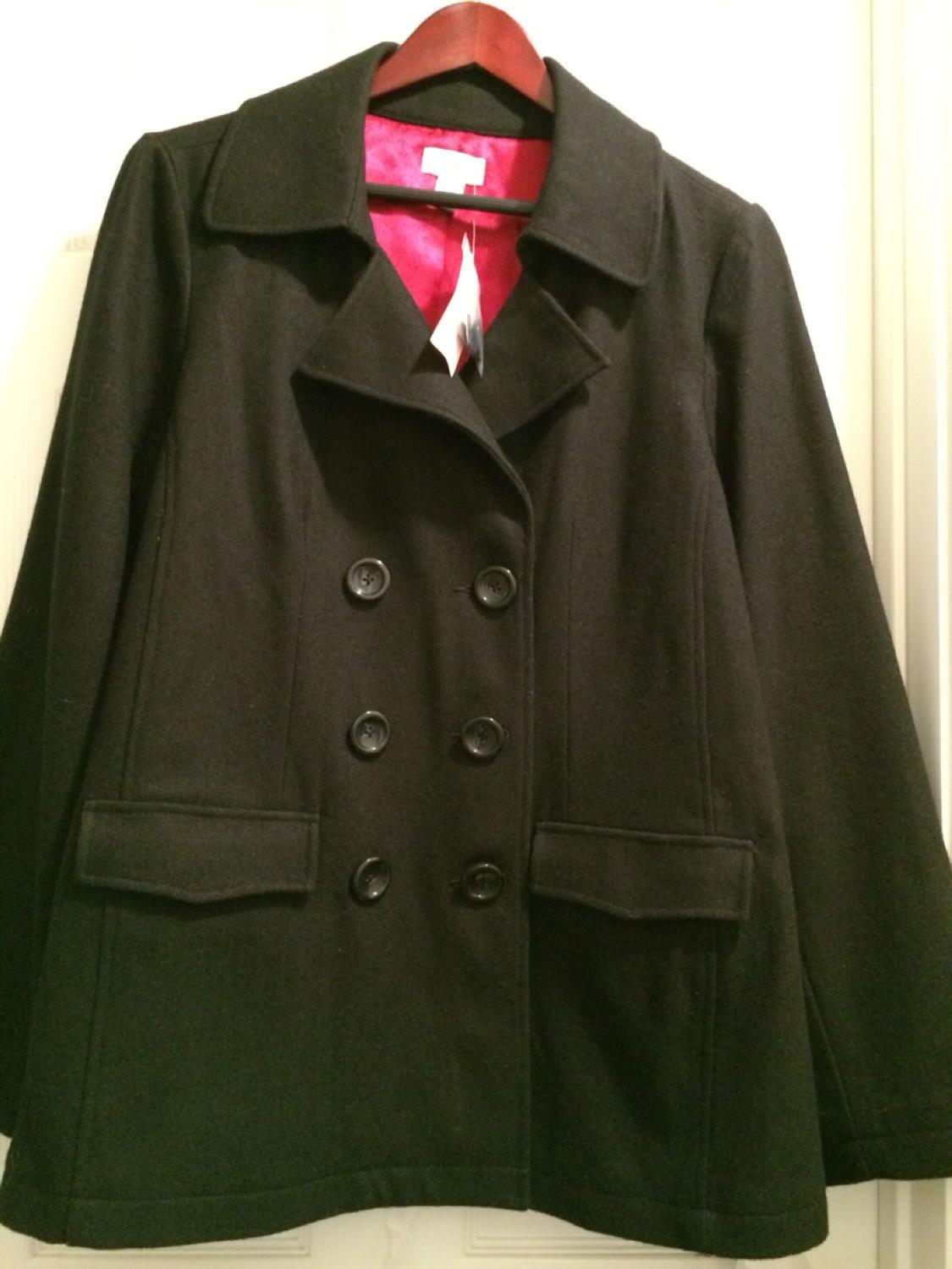 534d8e2f4969b Best Motherhood Maternity Pea Coat. New With Tags. Size Xl. Wool Blend. Org  Price Is $60. Meet At Heb Car Wash @290/barker Or Kroger On Tuckerton for  sale ...