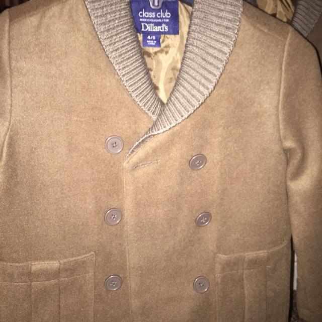 524939a52a2f Find more Two Brand New Size 4 5 Boys Winter Dress Coats. Dillard s ...
