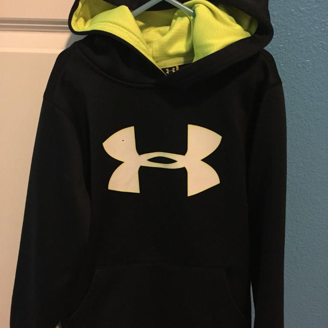 7ceb7a796 Find more Boys Youth Med Under Armour ( Glow In The Dark) Hoodie for ...