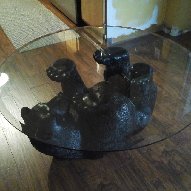 BLACK BEAR COFFEE TABLE - Find More Black Bear Coffee Table For Sale At Up To 90% Off
