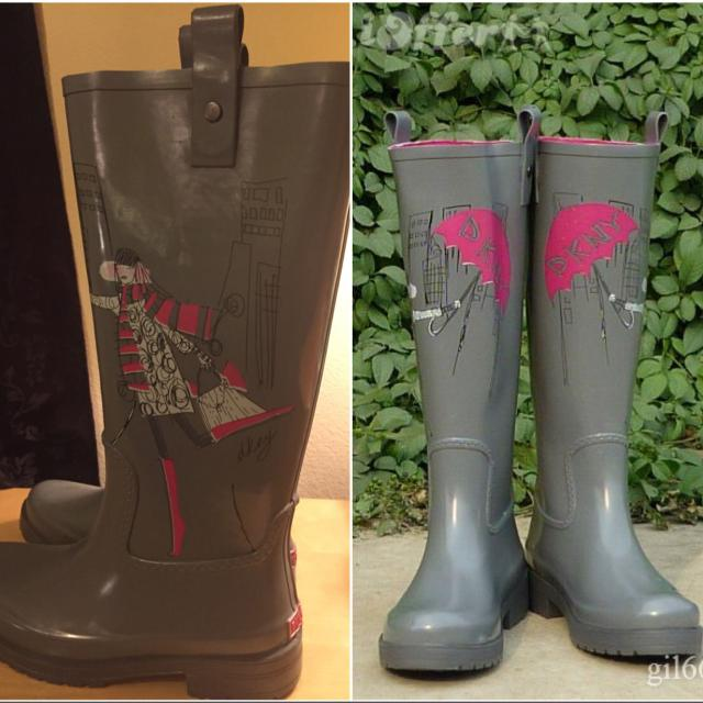 08b141f7135f Find more Dkny Niagara Rain Boots Size 8(pick Up Only) for sale at ...