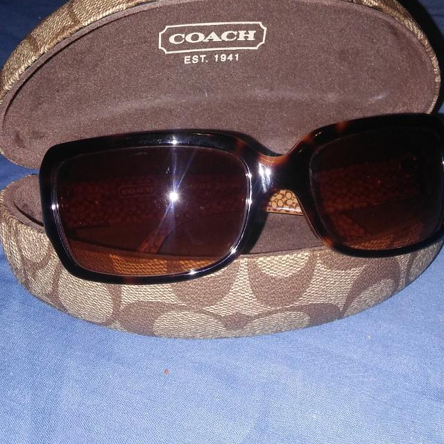 fb4d302218c8 Best Coach Brand Delphine (s443) Tortoise Sunglasses And Case for sale in  Brenham, Texas for 2019