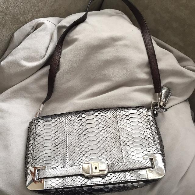 346c6e27673e Best Michael Kors Collection, Limited Edition, Metallic Python Shoulder Bag  for sale in The Beaches, Ontario for 2019