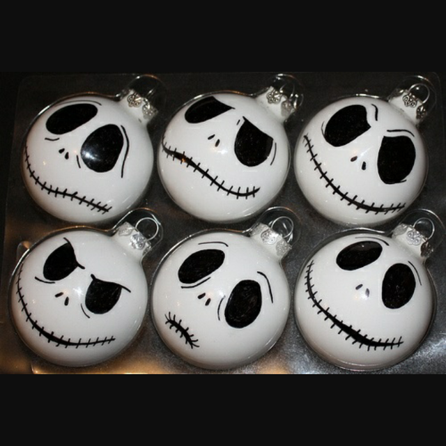 jack skeleton christmas ornaments - Jack Skeleton Christmas Decorations