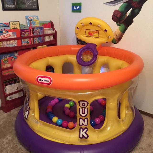 little tikes slam dunk big ball pit instructions