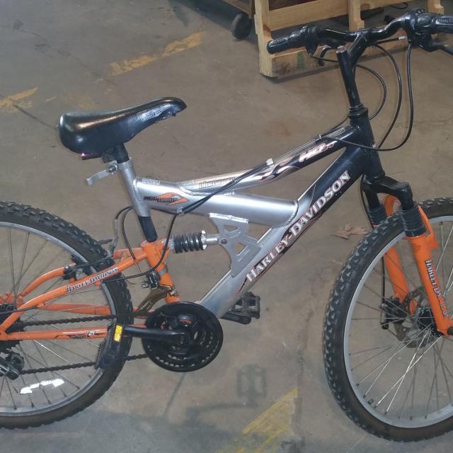 best harley davidson aluminum mountain bike for sale in north