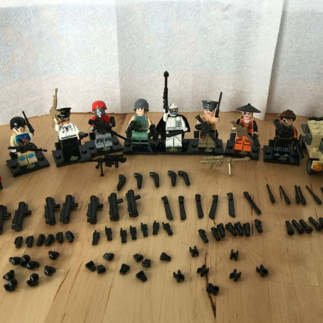 Best Lego Swat Ghost Special Forces Newwhole Set For Sale In
