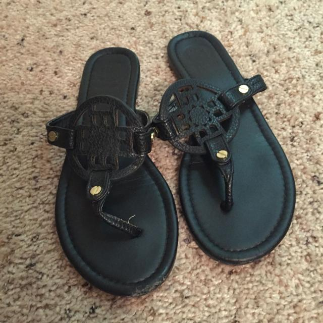 fb19f8f6f96 Find more Tory Burch Inspired Black Sandals for sale at up to 90% off
