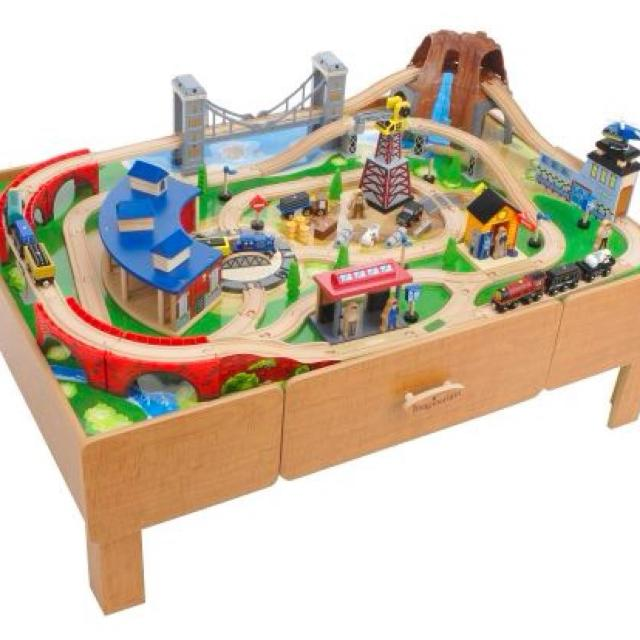 Find More Imaginarium Train Table With Extra Trains Included No