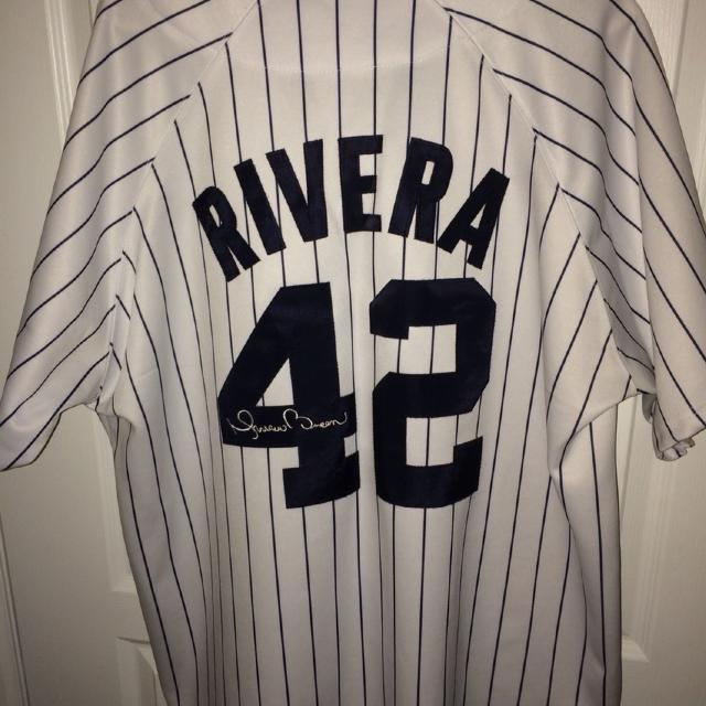 huge selection of b50ac 9ce38 Mitchell and Ness Mariano Rivera New York Yankees Jersey