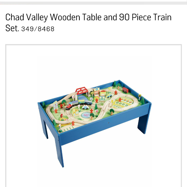 Find more Chad Valley Train Table Set for sale at up to 90% off