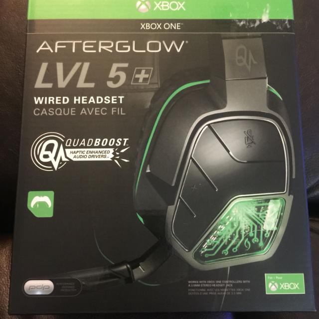 XBOX ONE AFTERGLOW LVL 5+ WIRED HEADSET