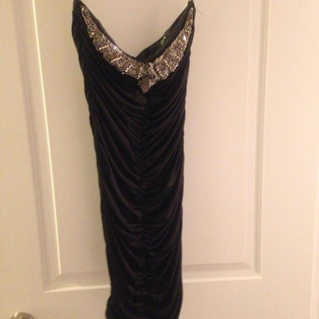 Best Forever 21 Size M Tight Dress With Ruching So Looks Great