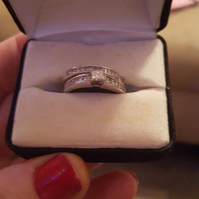 Best 1 2k White Gold Princess Cut Diamond Engagement Ring And 1 2k