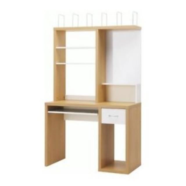 find more ikea mikael computer desk workstation for sale at up to 90 off. Black Bedroom Furniture Sets. Home Design Ideas