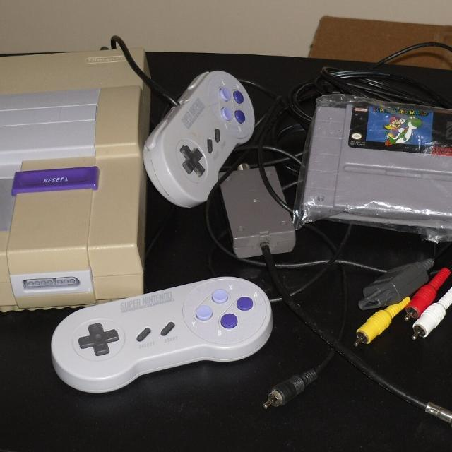 find more s n e s snes super nintendo console system 2. Black Bedroom Furniture Sets. Home Design Ideas