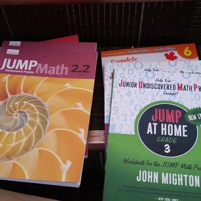 Find more Jump Math Books - Grade 2 & 3 for sale at up to 90