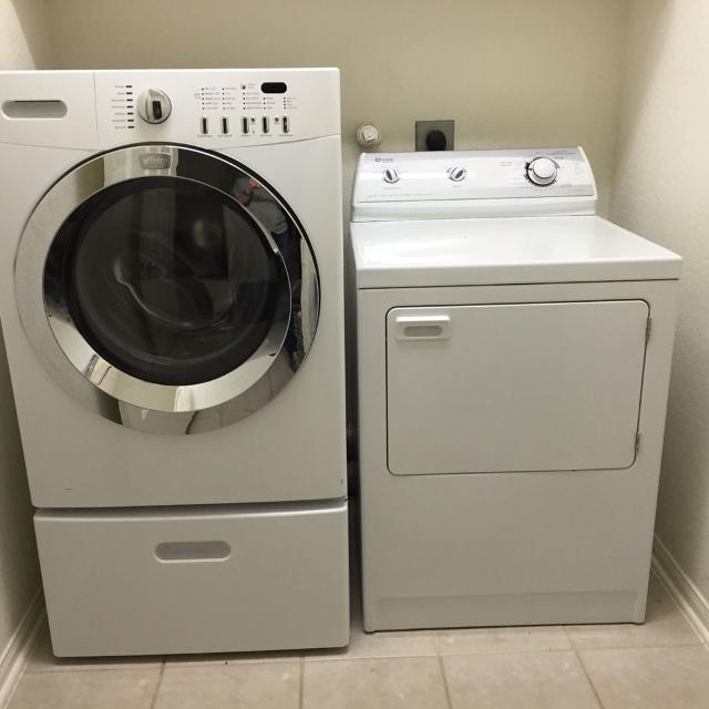Frigidaire Affinity Front Load Washer Pedestal Not Included And Maytag Performa Dryer Electric