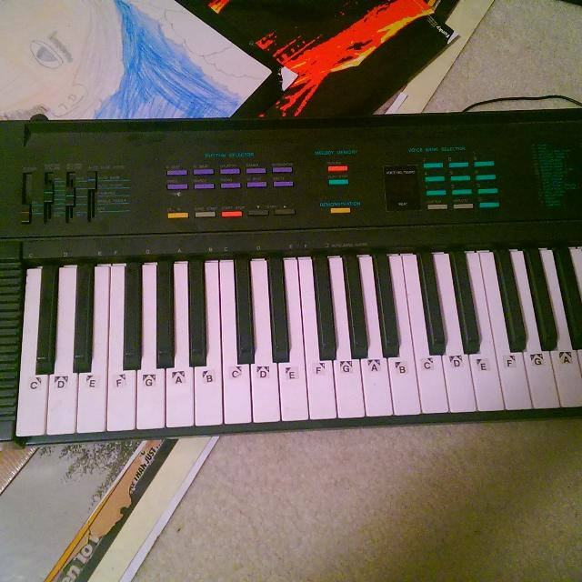 find more yamaha psr 6 keyboard with power cord for sale at up to 90 off pensacola fl. Black Bedroom Furniture Sets. Home Design Ideas