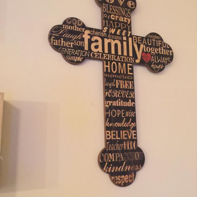 Cross For A Wall Or Just Decor Perfect Condition