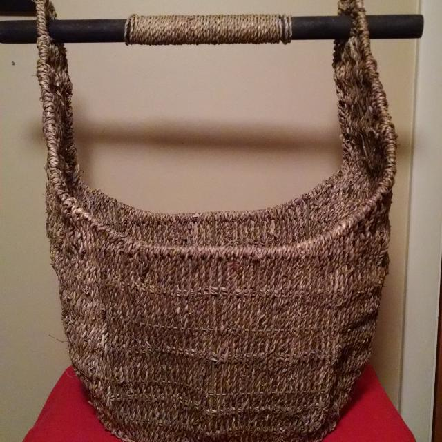 Thirty One Magazine Basket Can Also Be Used In The Bathroom To Hold A Roll