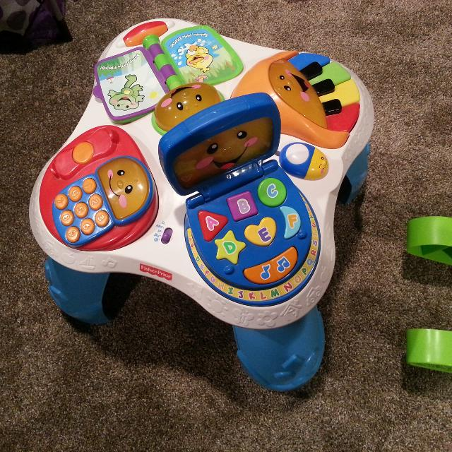 Fisher Price Sit To Stand Play Table