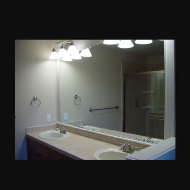 Find More Bathroom Mirror 3 Feet X 5 Feet No Frame Comes With