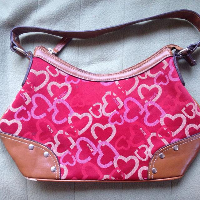 Best Xoxo Purse With Wear On Bottom. Selling For Mother. Take Both Xoxo  Purses For  15 Or  10 Each. for sale in Victoria, British Columbia for 2019 72added467