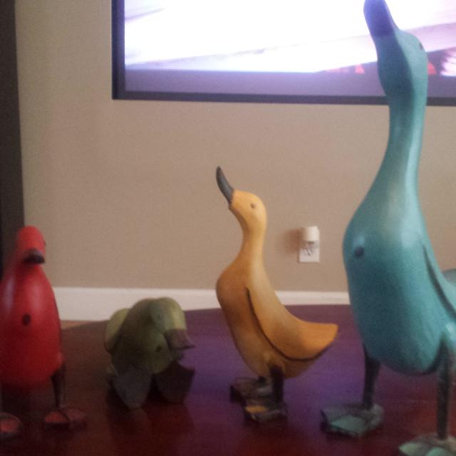 Find More Smith And Hawkins Colorful Wooden Duck Decor For Sale At