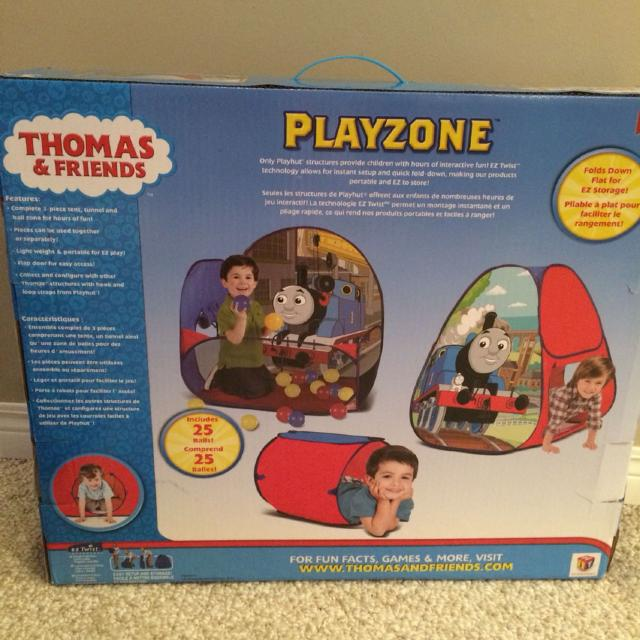 huge discount 9150c bde70 Thomas the Train Play Zone pop up tent/ Ball pit, including 195 balls!!