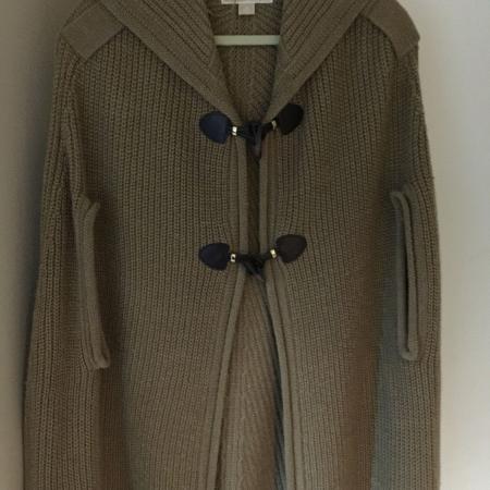 Ladies Michael Kors sweater/cape w/ hood for sale  Canada