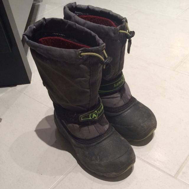 b1da99b64246 Find more Kamik Brand Boys Winter Boots. Size 13. Guc. for sale at ...