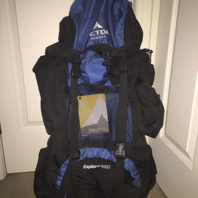 Find more Teton Sports Explorer 4000 Internal Frame Backpack (unused ... e86a257cdb148