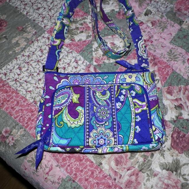 07122f3ae9 Find more Vera Bradley Little Hipster Crossbody Heather for sale at ...