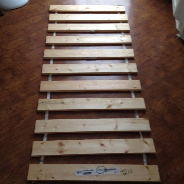 2 Ikea Sultan Lade Slatted Bed Bases Only 10 Each