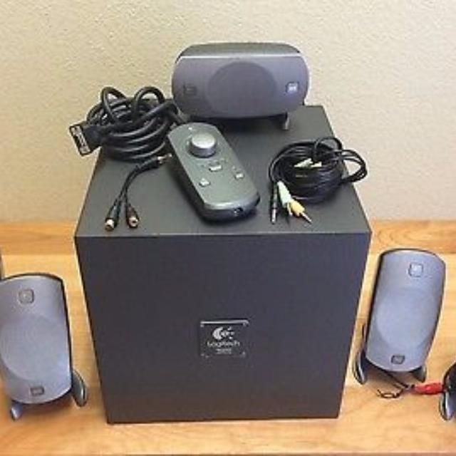 844c9d81e66 Best Logitech Z-5300 Thx 5.1-channel Surround Speaker System for sale in  Yorkville, Ontario for 2019