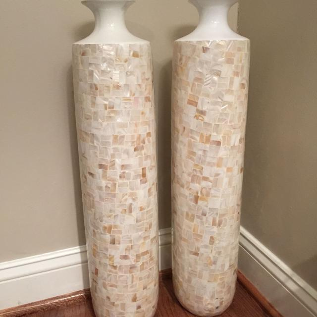 Find More Nicole Miller Mother Of Pearl Vases For Sale At Up To 90 Off
