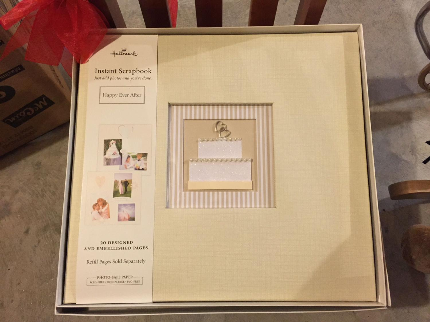 Find More Hallmark Wedding Scrapbook For Sale At Up To 90 Off