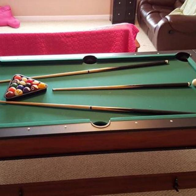Find More Pool Table Flips Over Into Air Hockey Game Accessories - Move a pool table without taking it apart