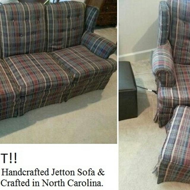 Jetton Sofa And Chair Ottoman
