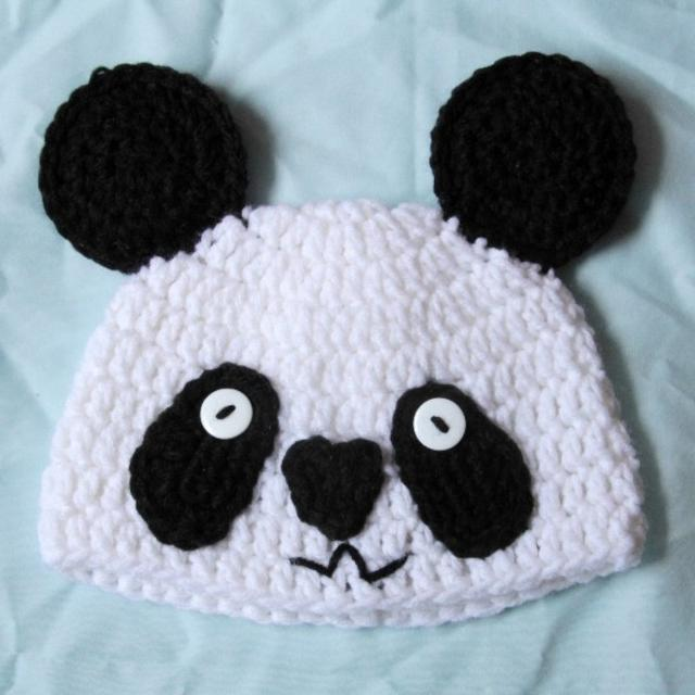 Best Crochet Panda Bear Hat For Sale In Beaufort South Carolina For