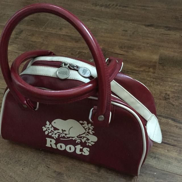 Vintage Roots Bowling Bag Purse