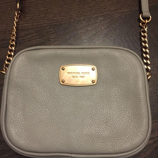 fd9f78fc37e8 Find more Authentic - Like New - Michael Kors Jet Set Small Pebbled ...