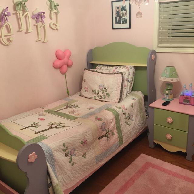 Find More 3 Piece Ashley Furniture Doll House Twin Sleigh Bedroom Set Mattress And Box Springs