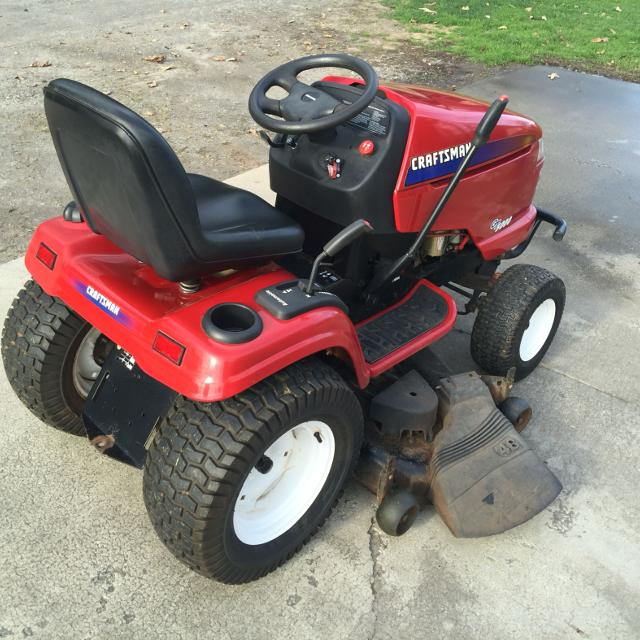 Best Craftsman Riding Mower 25 Hp Gt5000 48 Cut For Sale