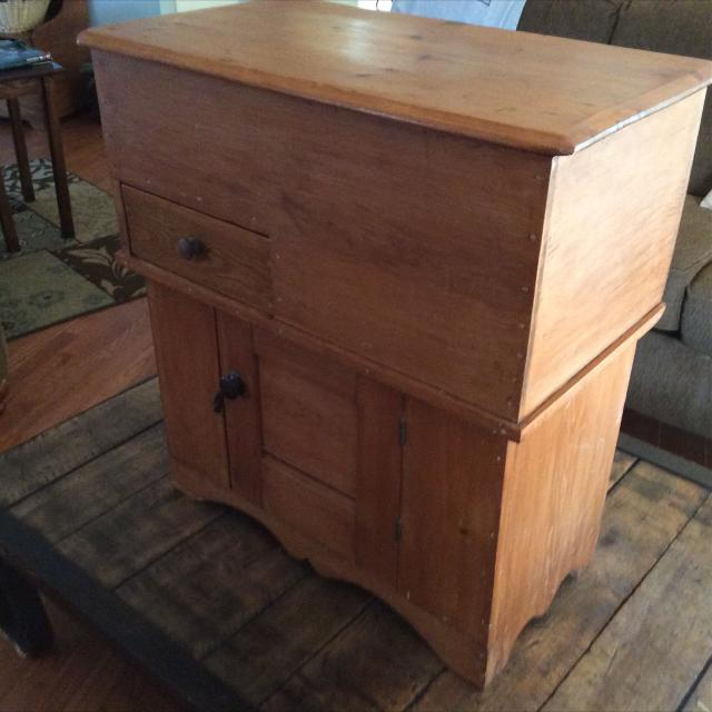 best antique commode cabinet for sale in richmond virginia for 2018. Black Bedroom Furniture Sets. Home Design Ideas